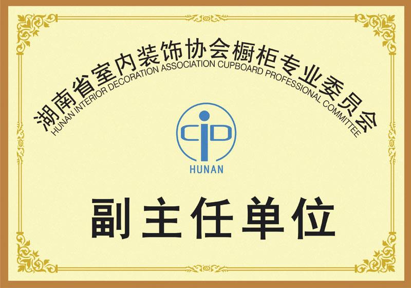 湖南室内装饰协会橱柜专委会副主任单位