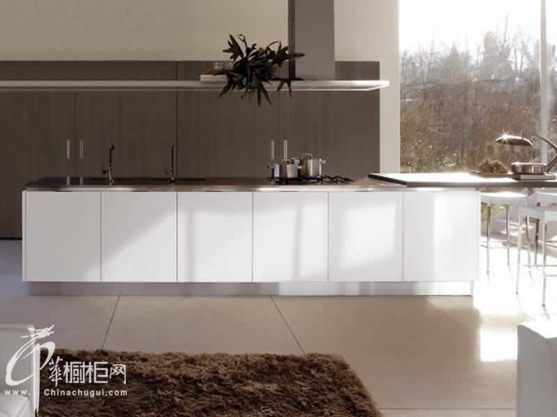 百丽厨柜-现代风格橱柜效果图