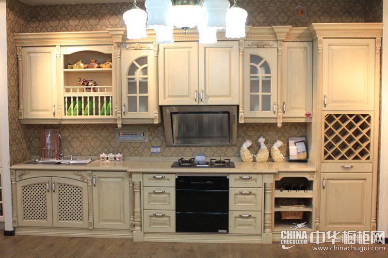欧式风格橱柜图片 京港厨柜整体橱柜图片