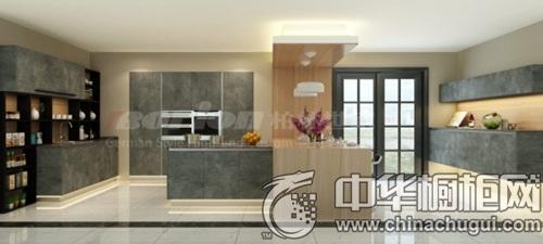 超美的灰色橱柜,瞬间提升了家居的品质和格调