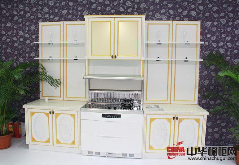 厨壹堂电器2014广州建博会参展产品 欧式风格橱柜图片