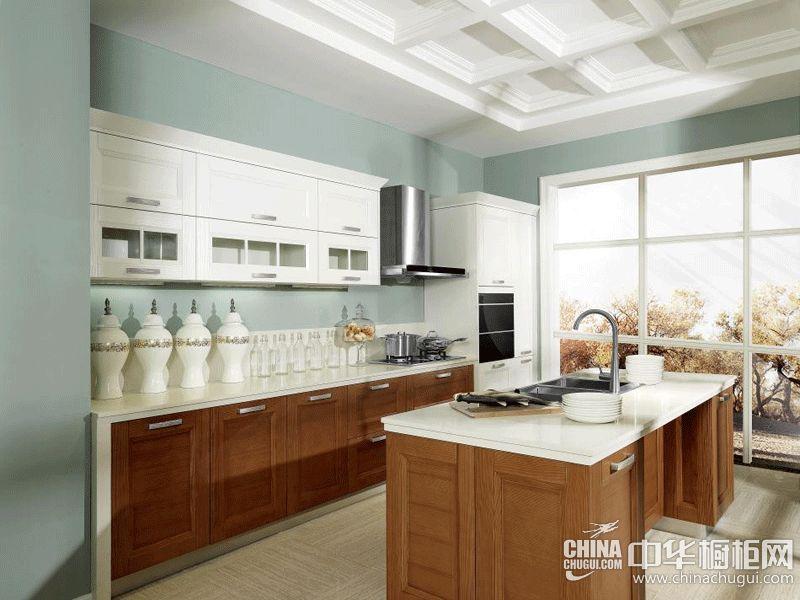 厨房装修效果图 德贝厨柜现代风格橱柜图片