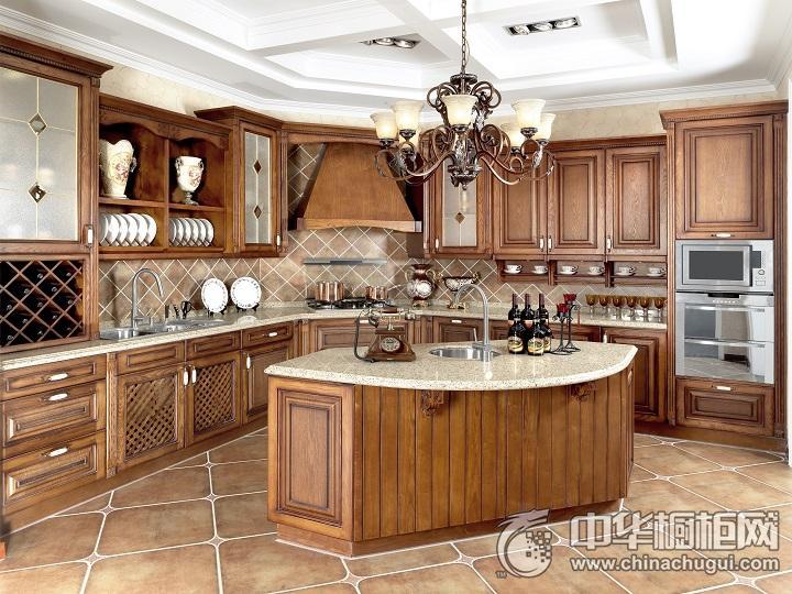 德贝厨柜效果图 欧式风格橱柜图片