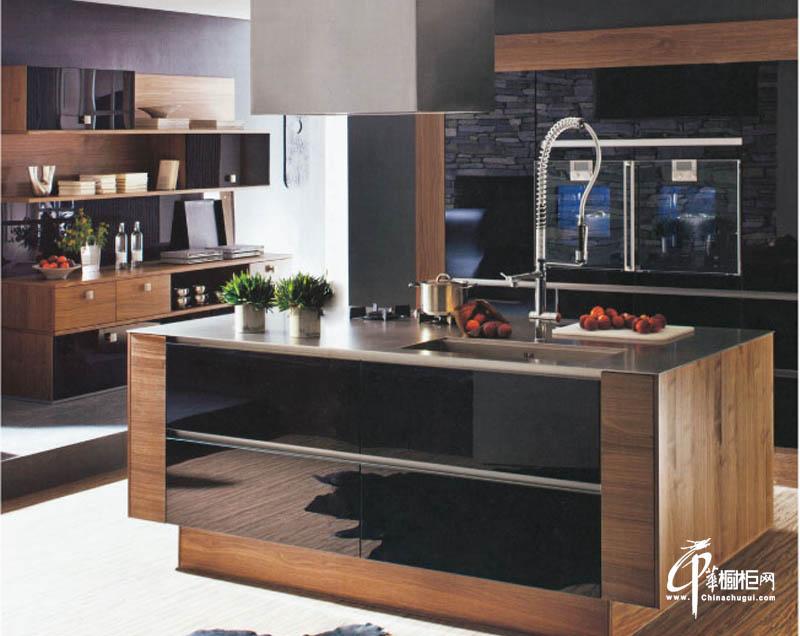 好来屋厨柜欧式简约风格橱柜效果图
