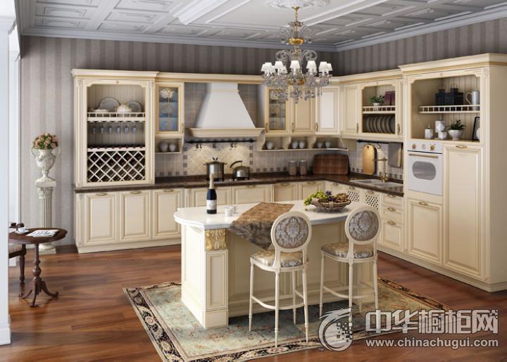 马克森整体橱柜衣柜爱丽舍宫 厨房装修效果图