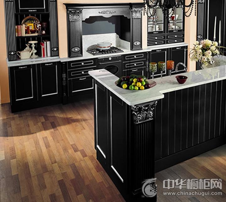 加利安橱柜实木橱柜 古典风格橱柜图片