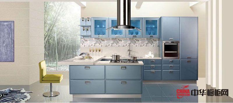 金牌厨柜图片 现代奢华整体橱柜效果图