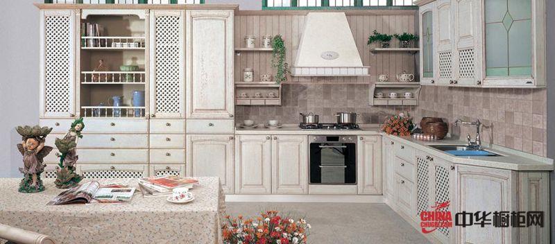 金牌厨柜图片 欧式系列整体橱柜效果图
