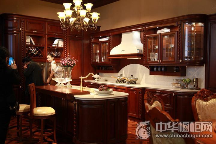 金牌厨柜整体橱柜图片 2016年上海厨卫展参展产品