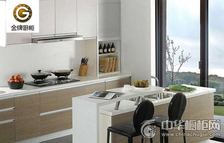 金牌厨柜原木物语简约风格橱柜图片