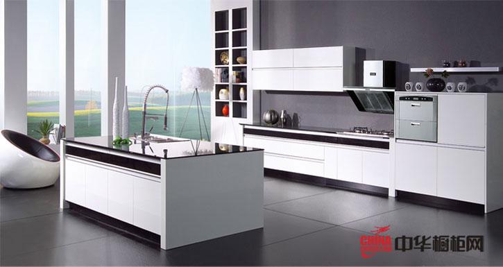 现代橱柜设计图 柏丽嘉橱柜产品浪漫白色沙滩 简约风格橱柜图片