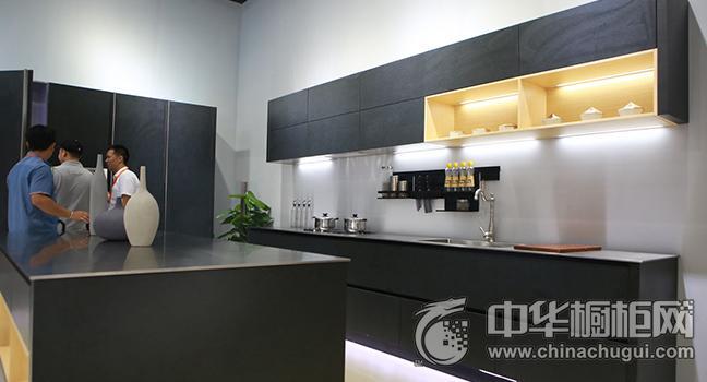 卡利亚不锈钢厨柜效果图 广州建博会参展新品