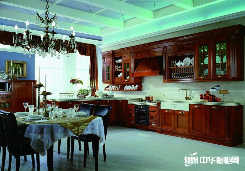 整体橱柜效果图 o.pratoni欧意普拉托尼橱柜产品 欧式古典风格橱柜图片