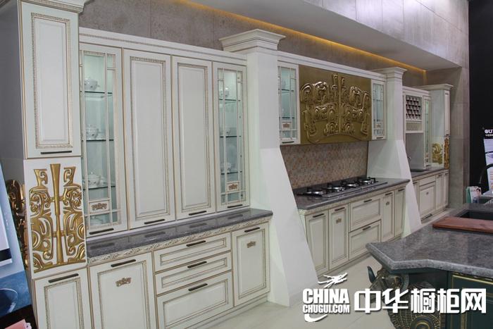 2015年上海厨卫展  欧意厨柜参展橱柜图片