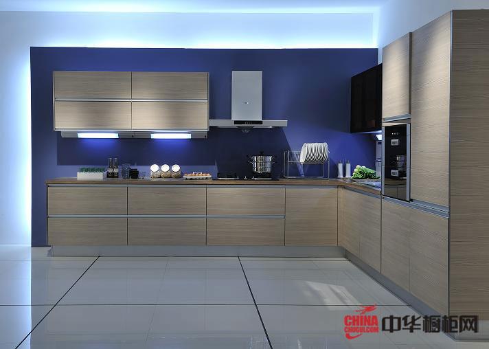 冷调橱柜效果图 易佰利橱柜产品塞尔斯 简约风格橱柜设计图