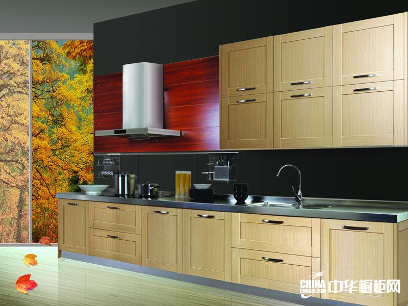 百能厨柜图片-不锈钢橱柜效果图-卡布其诺