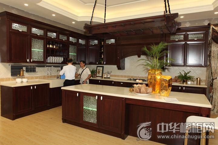 百能不锈钢橱柜 2016年中国建博会(广州)参展产品古典风格橱柜图片