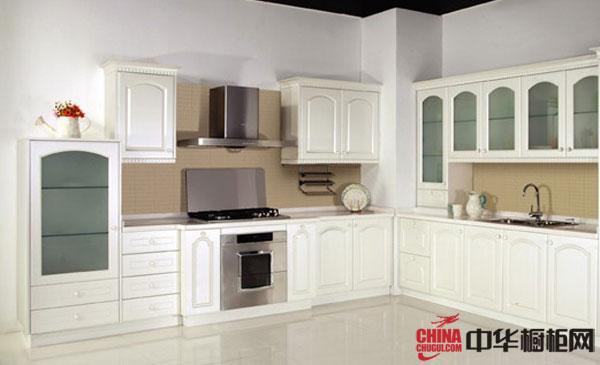 白色烤漆整体橱柜图片 2012年最新款欧式橱柜图片