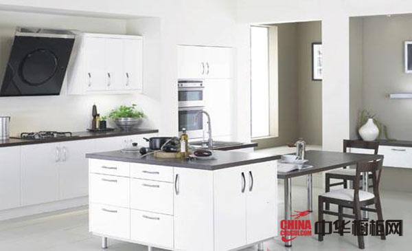 白色整体橱柜 英国jtc橱柜产品 令人舒适的现代简约风格