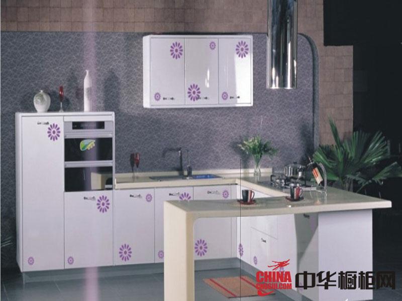 舒耐特橱柜整体效果图-白色烤漆图片