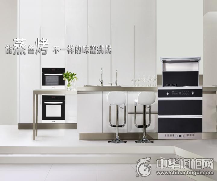 潮邦集成灶蒸箱烤箱1 简约风格橱柜图片