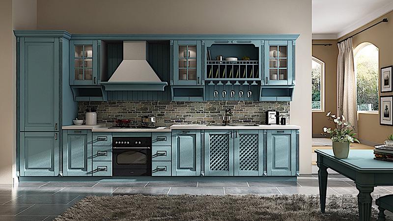 德瑞邦全屋定制德瑞邦全屋定制 蓝色海岸 (简欧膜压)整体橱柜其它风格橱柜图片