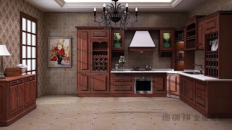 德瑞邦全屋定制德瑞邦全屋定制 布莱兹 (实木)整体橱柜其它风格橱柜图片