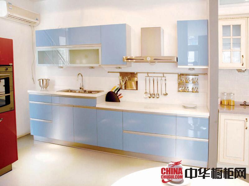 欧普橱柜整体橱柜效果图—地中海式简约风格