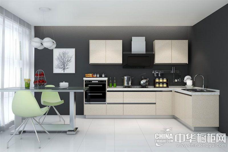 蓝谷智能厨房米兰幻影 简约风格橱柜效果图
