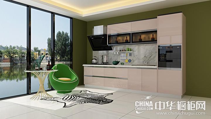 蓝谷智能厨房宝马银 简约风格橱柜图片