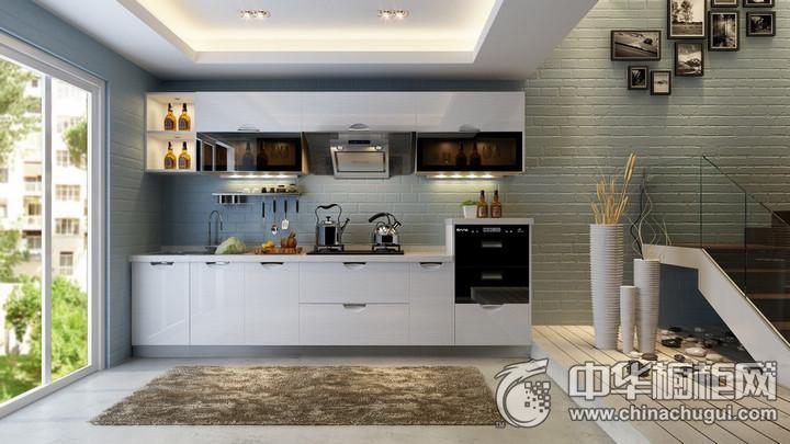 蓝谷智能厨房图片 简约风格橱柜图片