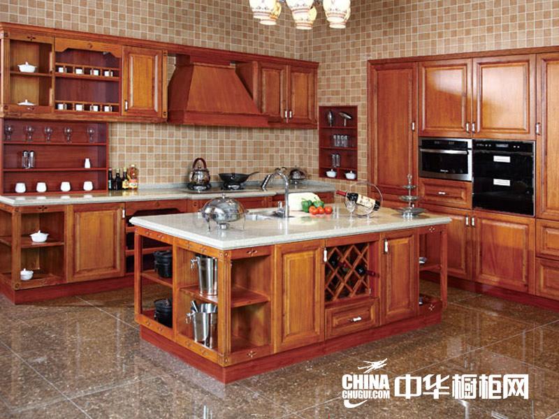 欧式古典风格金利橱柜图片 整体橱柜装修效果图-实木整体橱柜图片