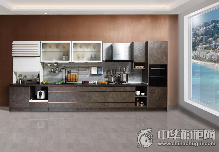 海尔整体厨房·衣柜效果图 简约风格橱柜图片