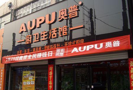 奥普集成灶山东烟台市龙口专卖店