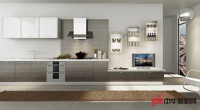 现代橱柜设计 法迪奥橱柜整体橱柜产品尚酷 简约风格橱柜图片