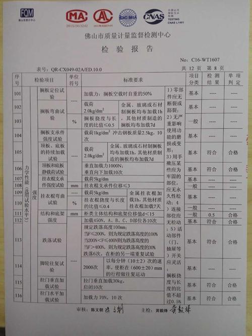 检验报告8