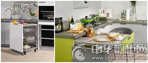 涨姿势 !诗尼曼创意橱柜让小厨房变大空间