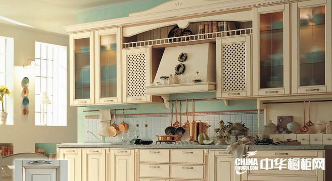 仿古橱柜效果图 得易家橱柜整体橱柜产品 欧式风格橱柜图片