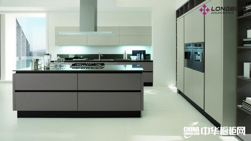 开放式厨房装修效果图 卓先龙邦橱柜整体橱柜图片