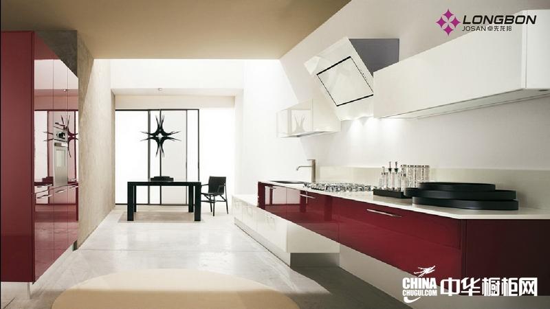卓先龙邦橱柜整体橱柜效果图 厨房装修效果图