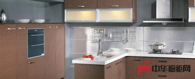 简约风格整体橱柜效果图 现代实木橱柜图片