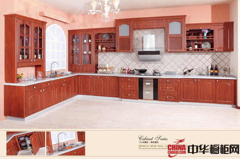 欧蒂克整体橱柜效果图日耳曼情怀 欧式风格厨房装修效果图欣赏