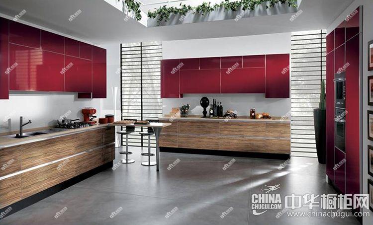 厨房装修效果图 吉福特简约风格橱柜图片