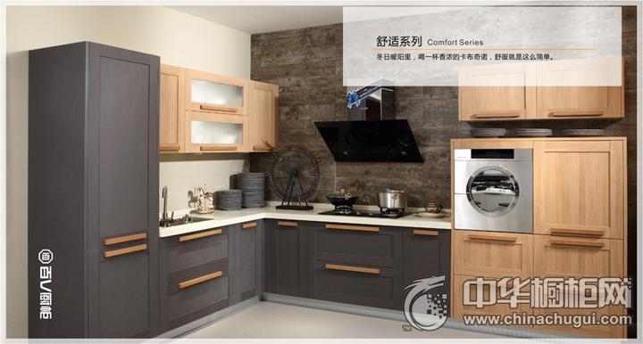 百V厨柜简约风格 简约风格橱柜图片