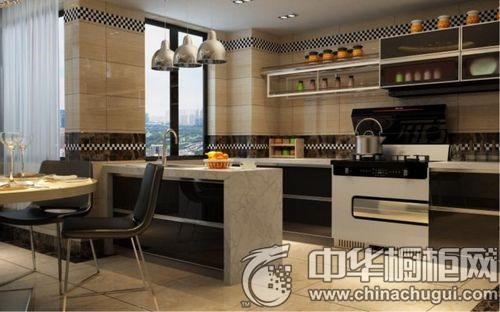 开放厨房中岛设计