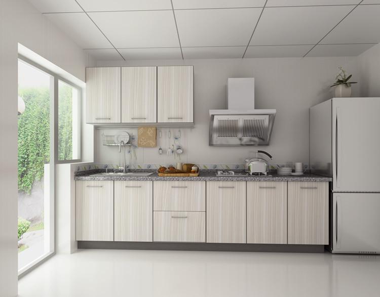 领尚.惠而浦整体厨房装修效果图秋水伊人 简约风格整体橱柜图片
