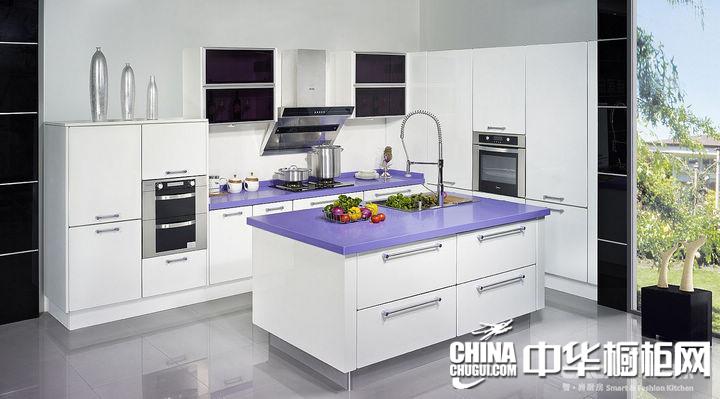 佳居乐 智.尚厨房紫罗蘭 简约风格橱柜图片