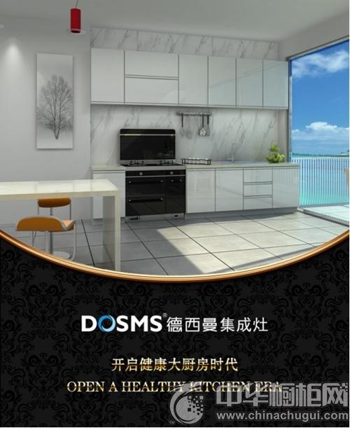 时尚家居,厨房必备--德西曼集成灶