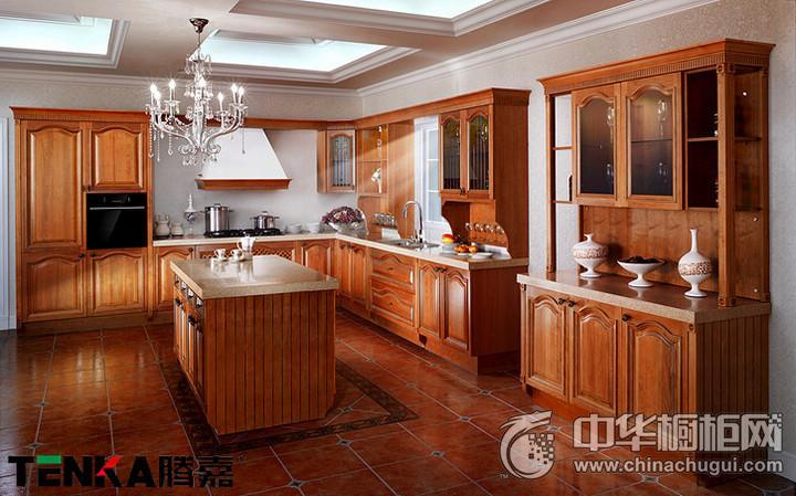 TENKA腾嘉厨柜图片 古典风格橱柜图片