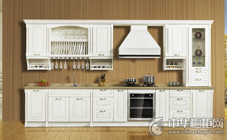 领尚惠而浦整体厨房爱琴沙海 田园风格橱柜图片